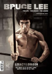 Bruce Lee The Life the Legacy the Legend Poster Magazine